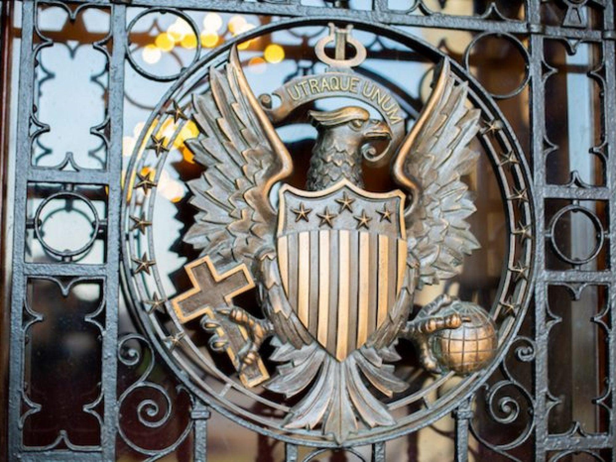 Georgetown's seal