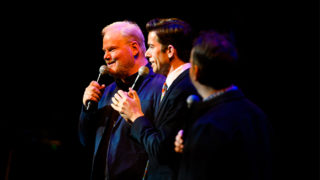 Comedians Jim Gaffigan, John Mulaney and Mike Birbiglia