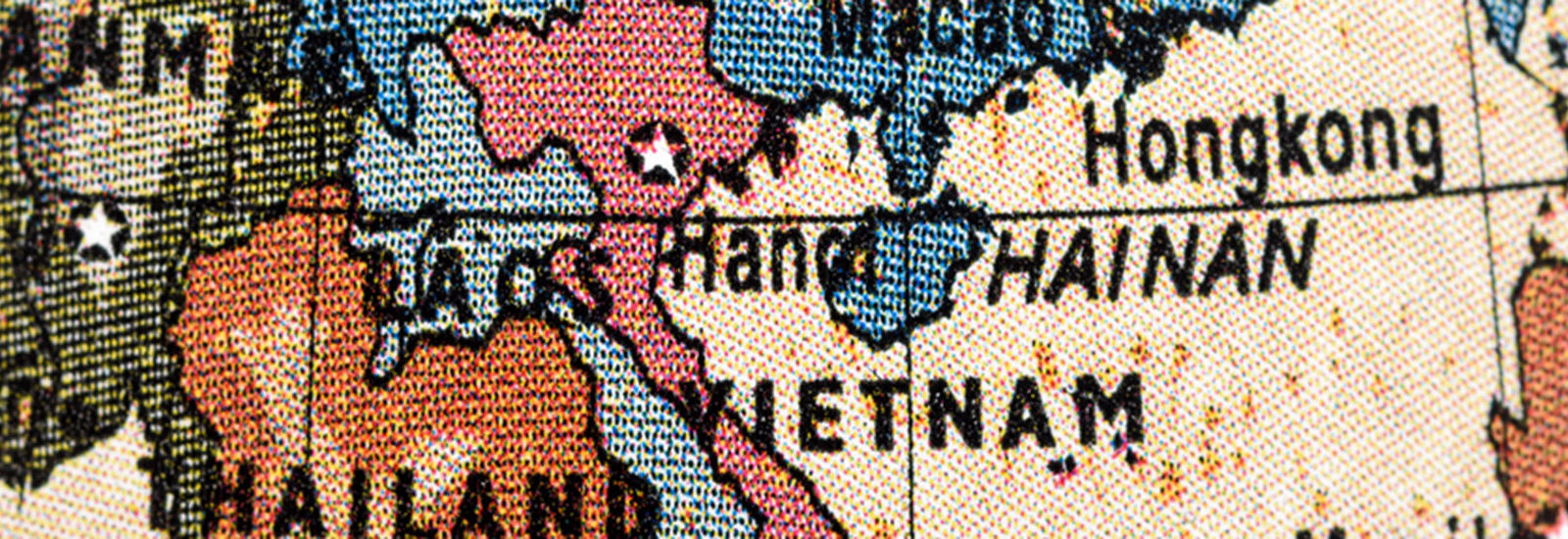 A map of Hanoi.