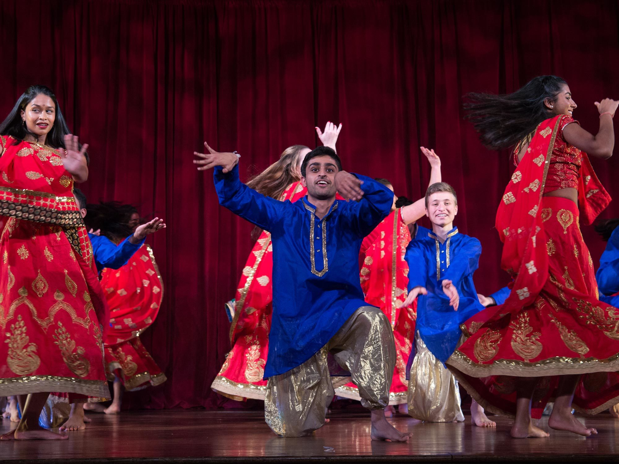 Georgetown students perform at Rangila
