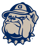 The Georgetown University Mascot which is Jack the Bulldog