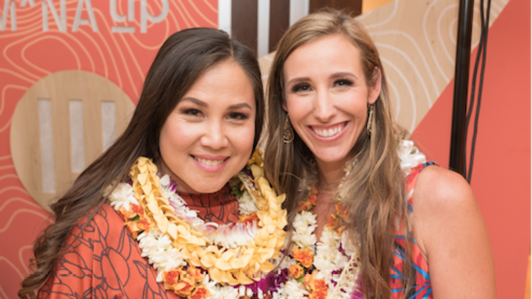 Brittany Heyd with cofounder Meli James