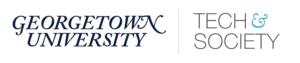 A Georgetown lockup logo
