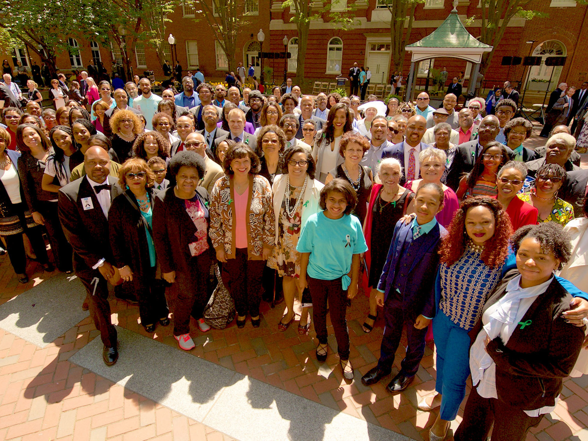 More than 150 descendants of the 272 enslaved individuals by the Maryland Jesuits.