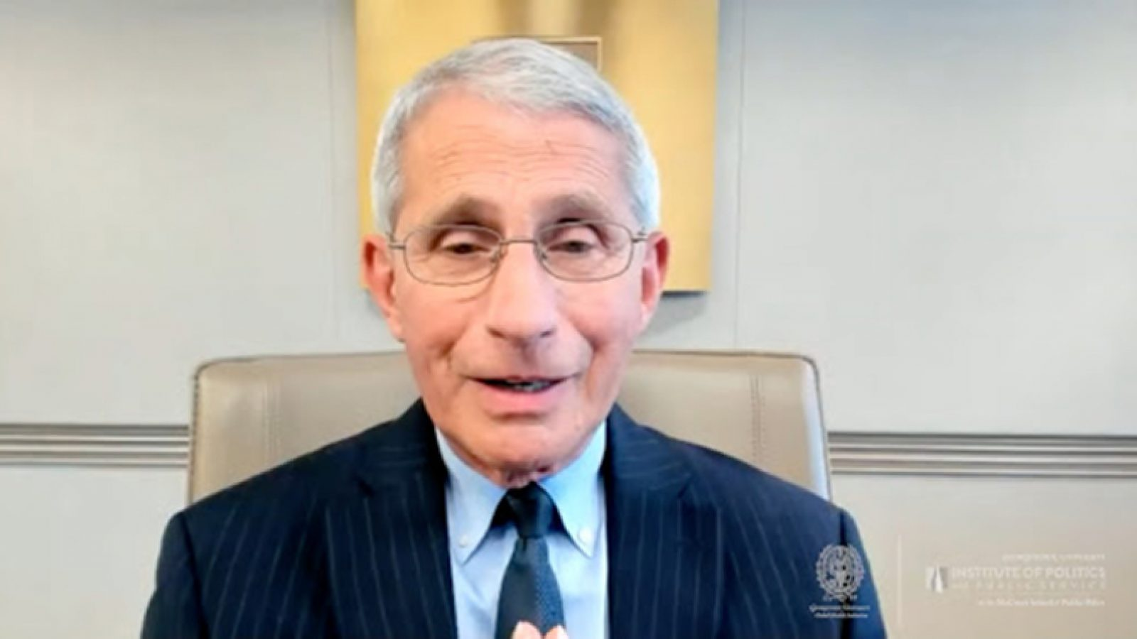 Dr. Anthony Fauci on Zoom