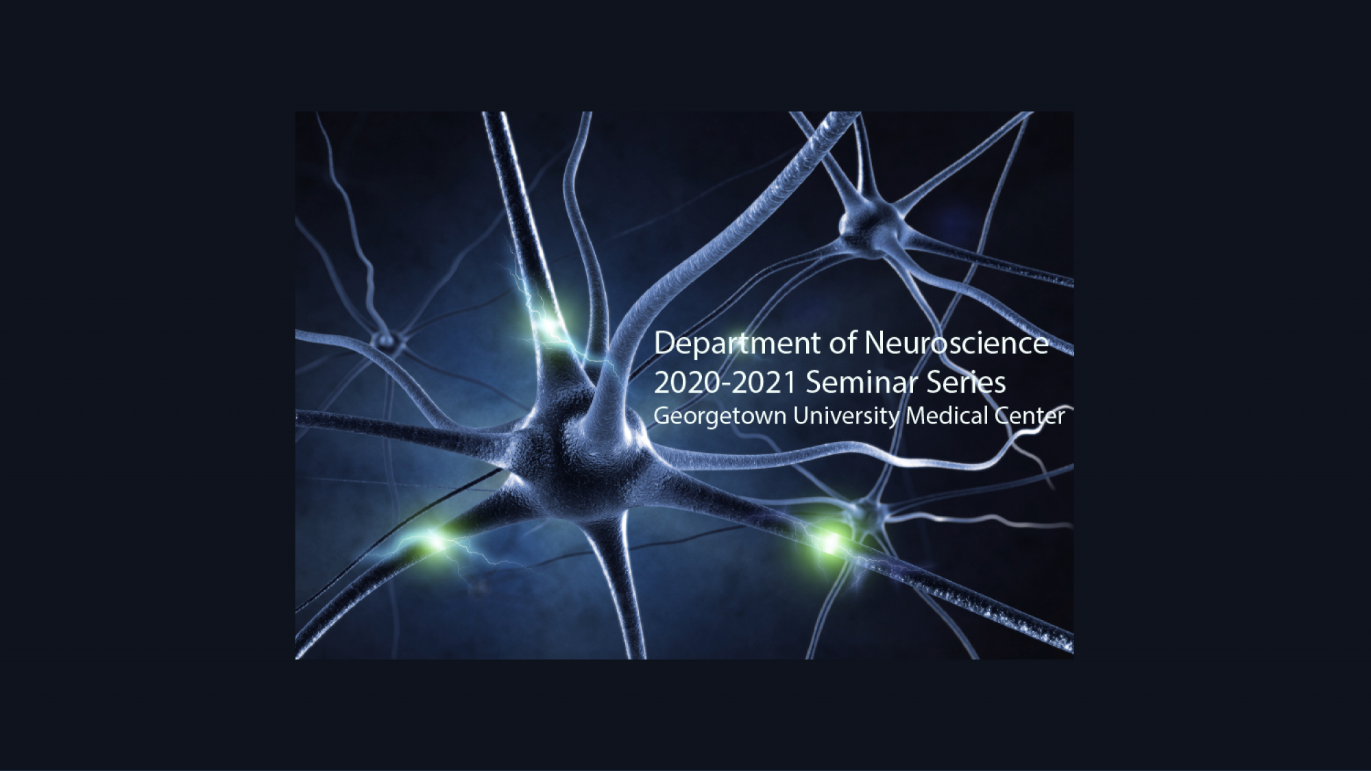Neuroscience Seminar Series