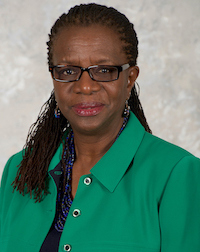 Dr. Edilma L. Yearwood in a formal portrait-style photograph