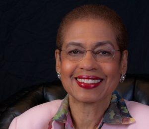 Congresswoman Eleanor Holmes Norton in a formal portrait photo