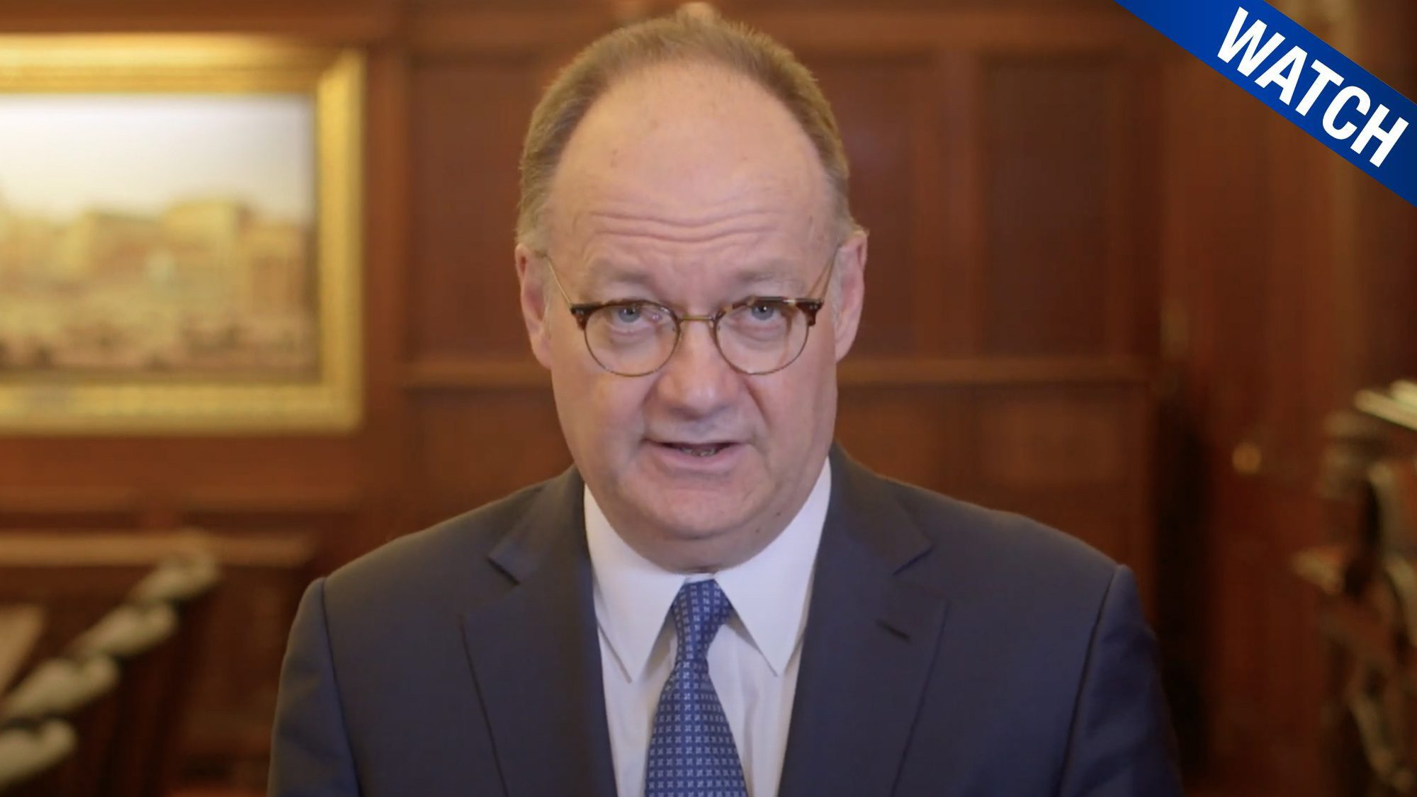 President DeGioia addresses the importance of mental well-being