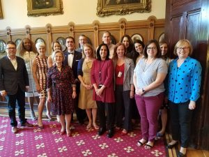 Group photo of the Task Force on Gender Equity