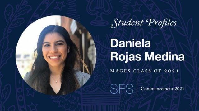 Headshot of Daniela Rojas Medina with test