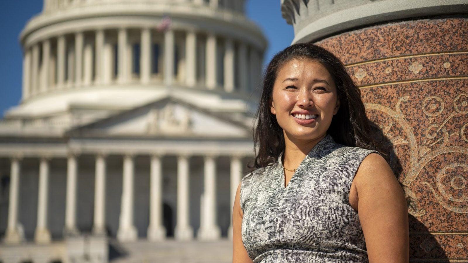 Mackenzie Loy (MPP/MBA'22) is the 2022 Whittington Scholar.