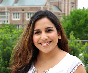 Alejandra Martinez, a Georgetown graduate and GSP alumna who is part of the GSP alumni network