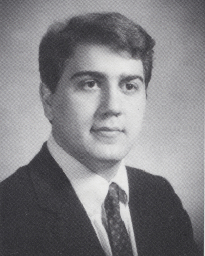 Geoffrey Chatas as a Georgetown student