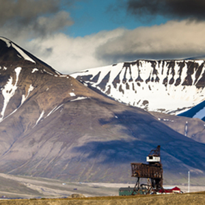 Svalbard, an archipelago between mainland Norway and the North Pole