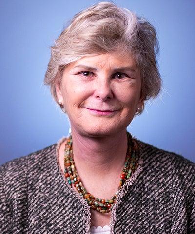 Headshot of former Ambassador Michele Thoren Bond