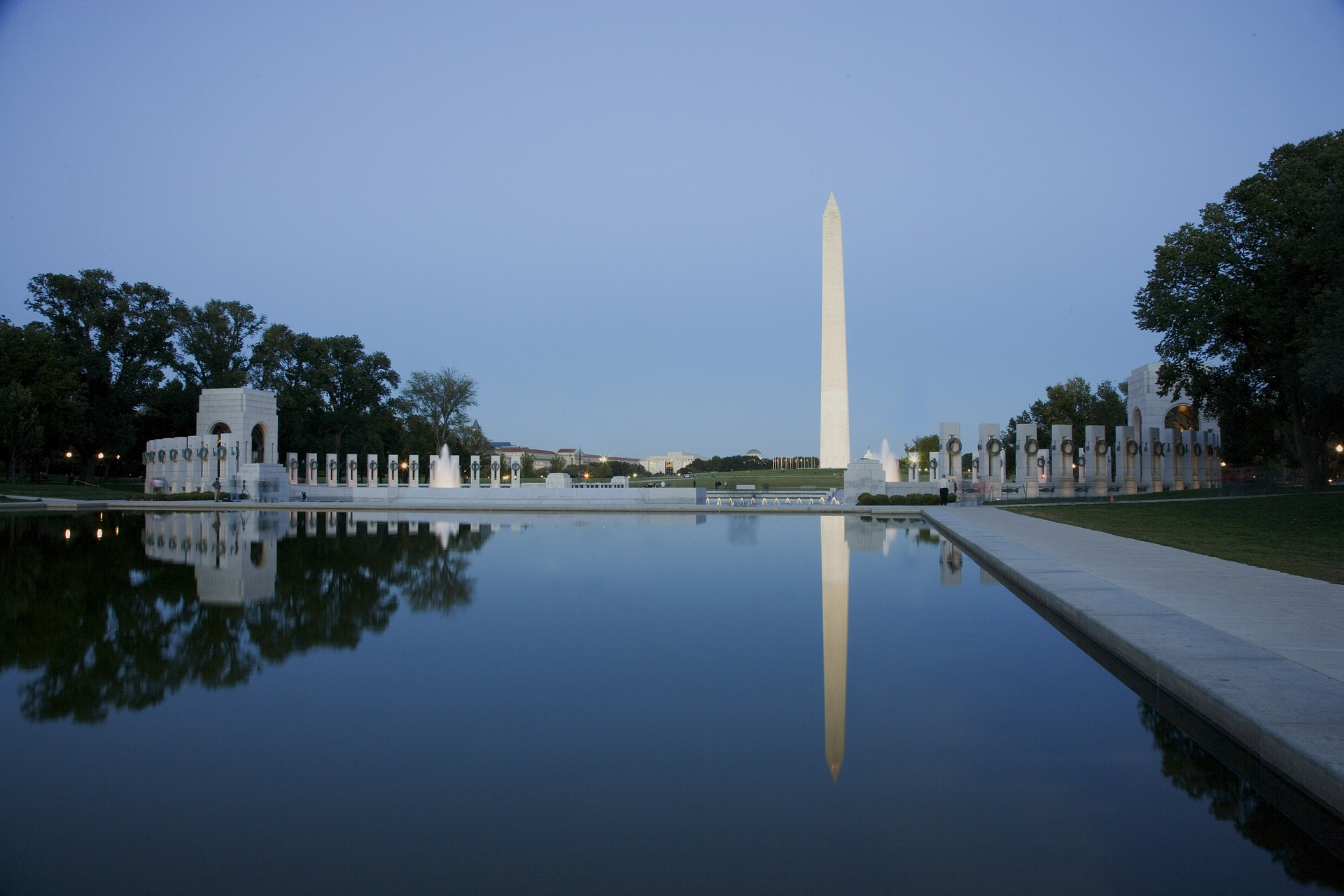 The World War II Memorial and Reflecting Pool
