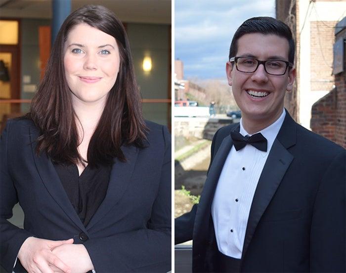 Cristine Stark and Daniel Wissam